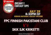 FinnishT20-29thJuly-SJK kriketti-vs-FinnishPakistaniCC