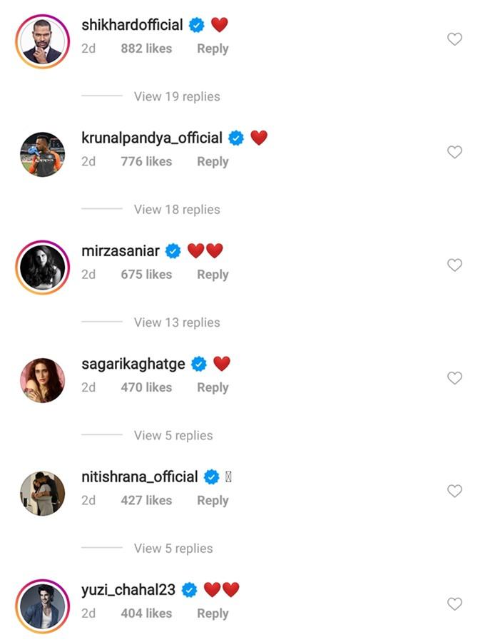 Hardik Pandya's Instagram post1