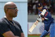Ian Bishop and Sachin Tendulkar