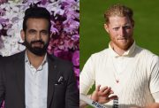 Irfan Pathan and Ben Stokes