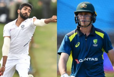 Jasprit Bumrah and Marnus Labuschagne