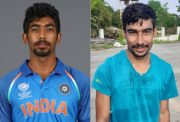 Jasprit Bumrah and Raj Mishra