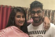 Jasprit Bumrah and his sister