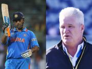 MS Dhoni and Dean Jones