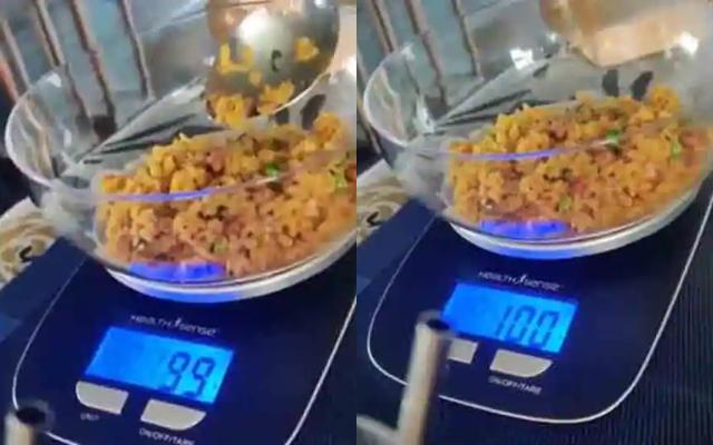 Measured eating of Virat Kohli