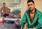 Navdeep Saini and Hardik Pandya