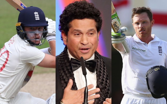 Ollie Pope, Sachin Tendulkar and Ian Bell