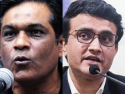 Rashid Latif and Sourav Ganguly