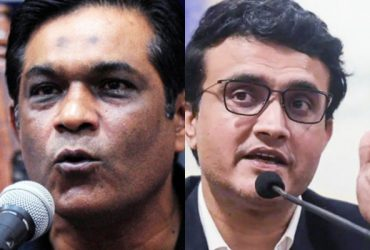 Rashid Latif and Sourav Ganguly