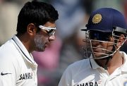 Ravichandran Ashwin and MS Dhoni