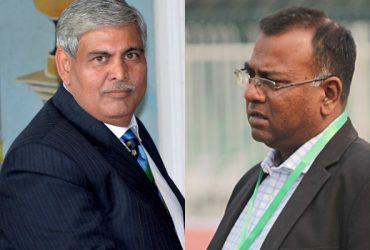 Shashank Manohar and Basit Ali