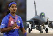 Shikha pandey and Rafale