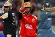 Sourav Ganguly, Rahul Dravid and VVS Laxman