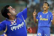 Sreesanth and Ankeet Chavan