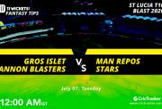St.-Lucia-T10-2nd-SemiFInal-GrosIsletCanonBlasters-vs-ManReposStars