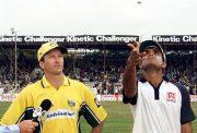 Steve Waugh and Sourav Ganguly
