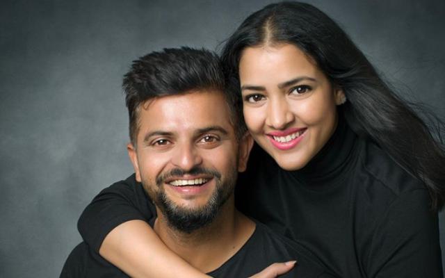 Suresh Raina and Priyanka Raina