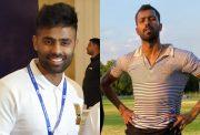 Suryakumar Yadav and Hardik Pandya