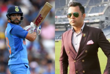 Virat Kohli and Aakash Chopra