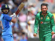 Virat Kohli and Junaid Khan