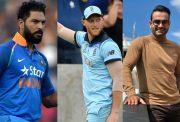 Yuvraj Singh, Ben Stokes and Irfan Pathan