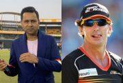 Aakash Chopra and Brad Hogg