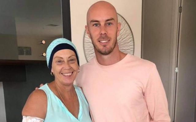 Chriss Lynn and his mom