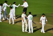 England and Pakistan players