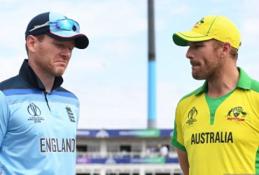 Eoin Morgan and Aaron Finch