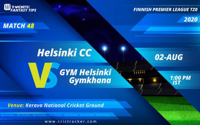 Finnish-Premier-League-2020-–-Match-48,-GYM-Helsinki-Gymkhana-vs-Helsinki-Cricket-Club