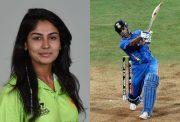 Kainat Imtiaz and MS Dhoni