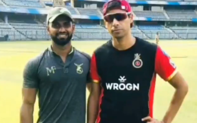 Karan Tiwari and Ashish Nehra