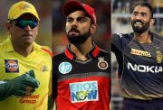MS Dhoni, Virat Kohli and Dinesh Karthik