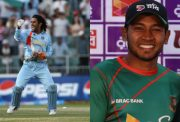 MS Dhoni and Mushfiqur Rahim