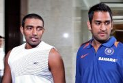 MS Dhoni and Robin Uthappa