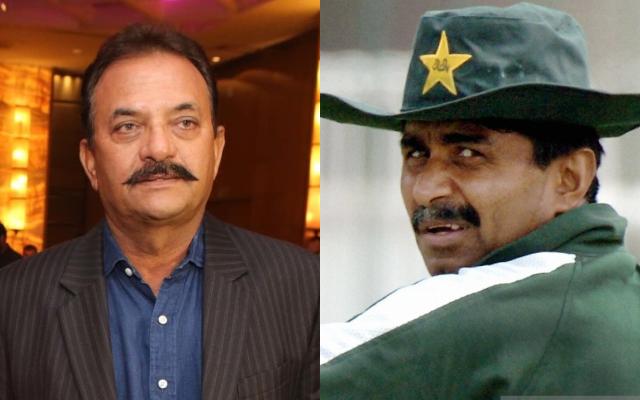 Madan Lal and Javed Miandad