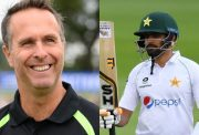 Michael Vaughan and Babar Azam