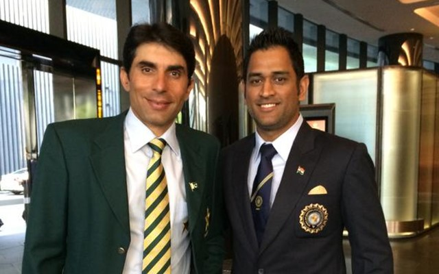 Misbah-ul-Haq and MS Dhoni