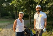 Mohammad Hafeez and old lady