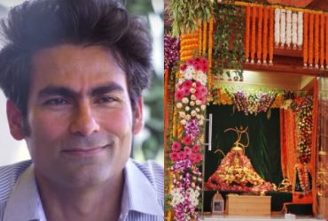 Mohammad Kaif and Bhoomi Poojan in Ayodhya