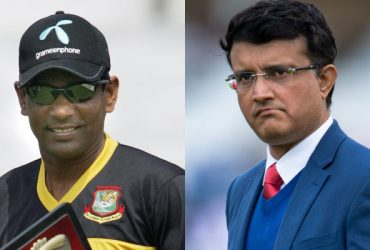 Mohammad Rafique and Sourav Ganguly