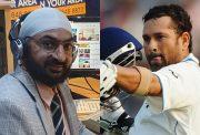 Monty Panesar and Sachin Tendulkar