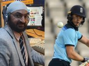 Monty Panesar and Sam Billings