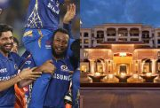 Mumbai Indians and St Regis, Abu Dhabi
