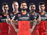 RCB's new jersey for IPL 2020