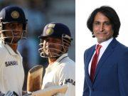 Rahul Dravid, Sachin Tendulkar and Ramiz Raja
