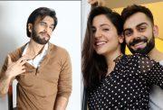 Ranveer Singh, Anushka Sharma and Virat Kohli