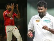Ravichandran Ashwin and Muttiah Muralitharan