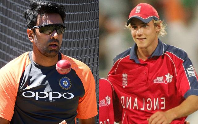 Ravichandran Ashwin and Stuart Broad