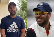 Rohit Sharma and Yuvraj Singh